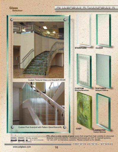 Guardrail & Handrail Glass Selection