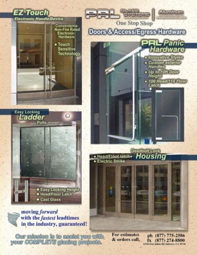 Doors & Access Egress Hardware