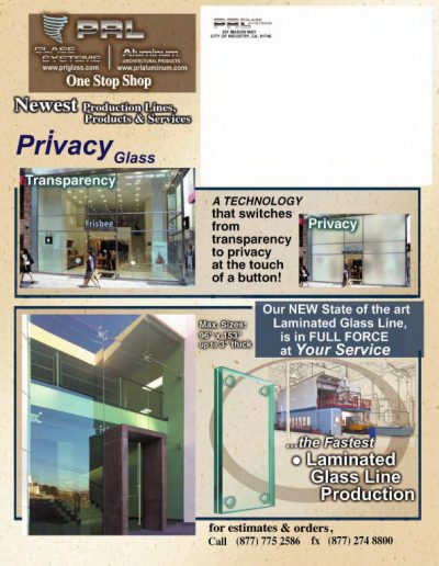 Laminated Glass Line Production