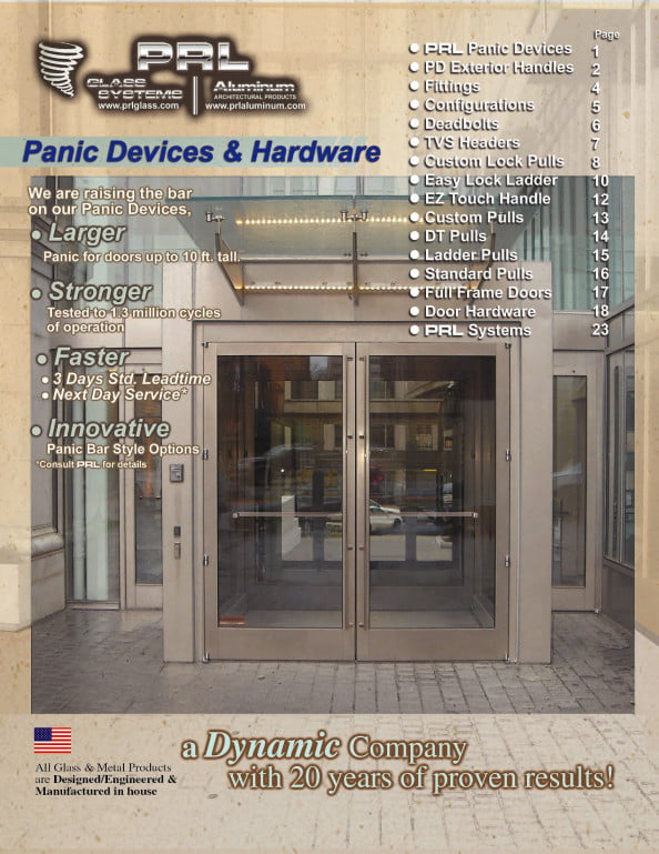 Panic Hardware Designed With Strength And Durability In Mind