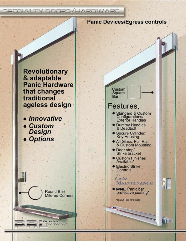 Panic Device For Architects And Door Design Professionals