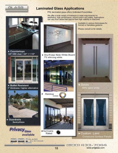 Laminated Glass Applications