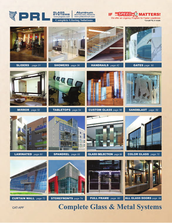 2015 Architectural Glass And Metal Catalog