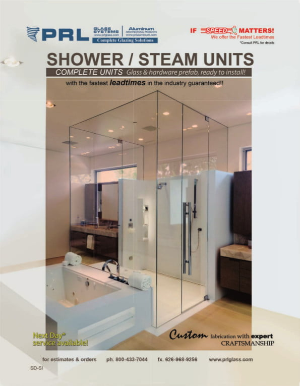 Shower and Steam Units
