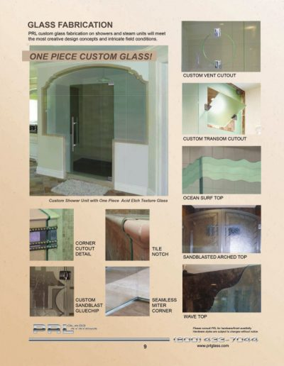 Glass Fabrication