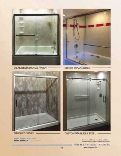 Tub / Shower Sliders