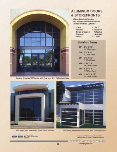 Aluminum Doors & Storefronts