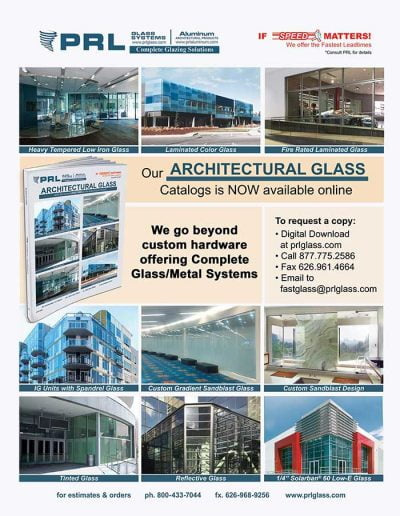 2018 Architectural Glass Catalog