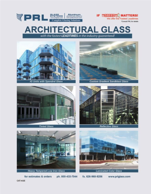 Architectural Glass and Metal Products and Systems Catalog