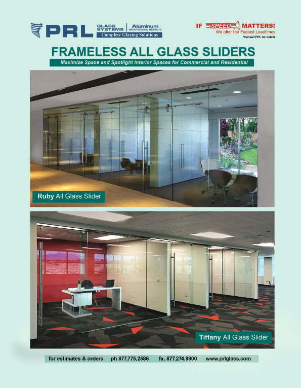 Frameless All-Glass Sliding Doors