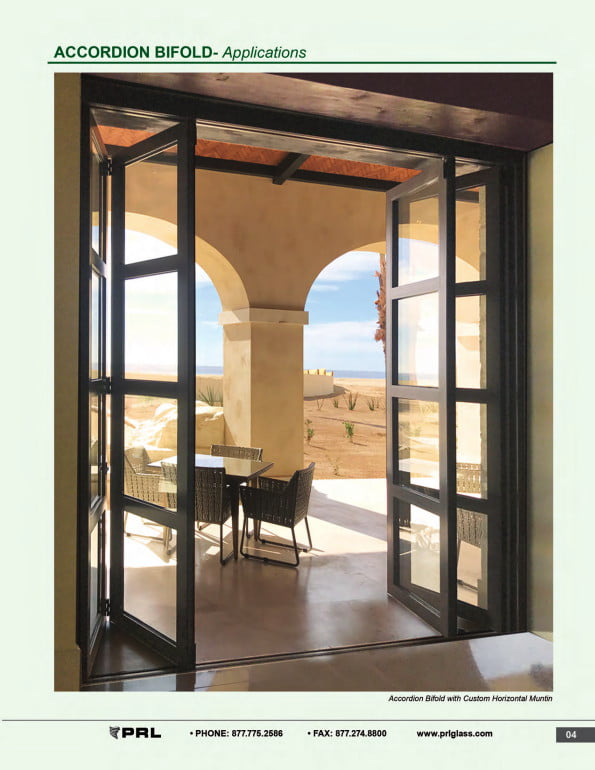Accordion Bifold Door Applications