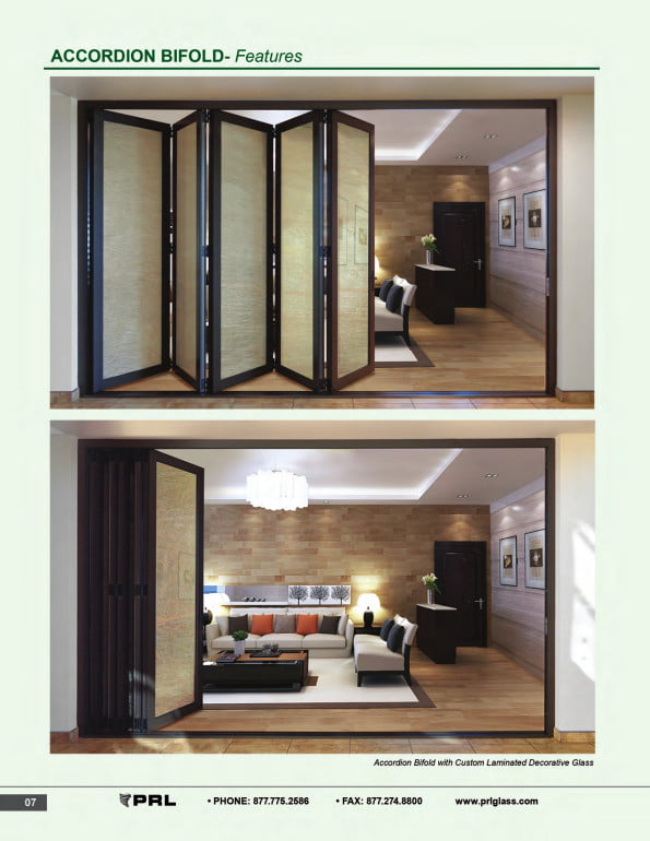 Accordion Bifold Door Features 2