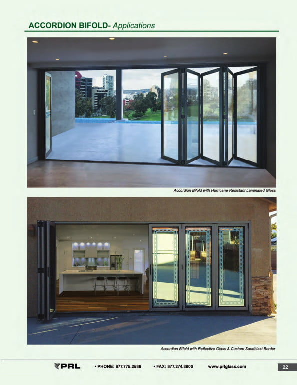 Accordion Bifold Door Applications 2