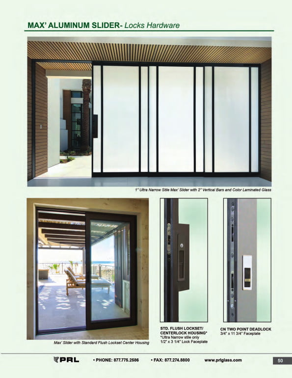 Glass and Aluminum Sliding Door Locks and Hardware 2