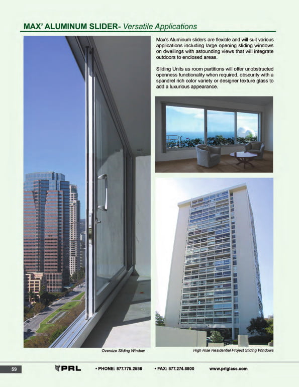 Max Aluminum Sliding Doors Versatile Applications 1