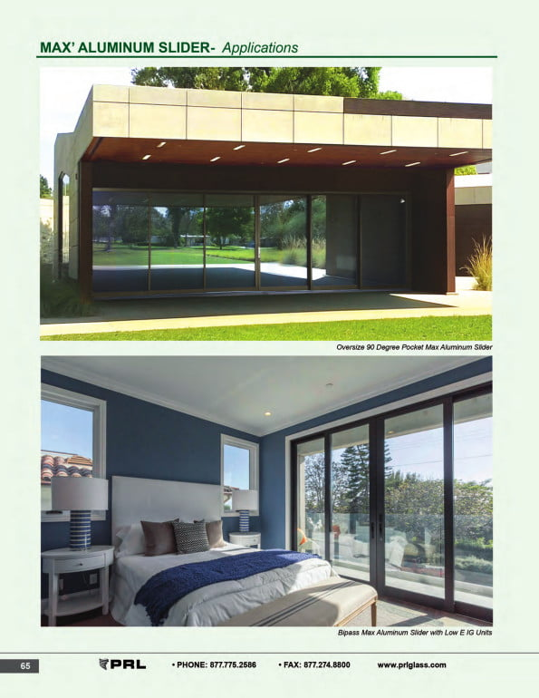 Versatile Glass and Aluminum Sliding Doors 1