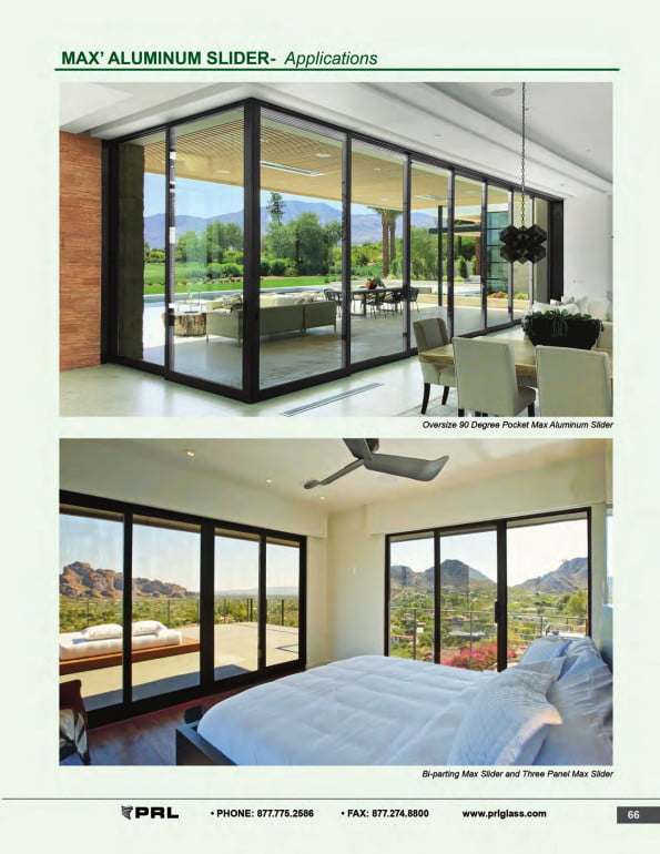 Versatile Glass and Aluminum Sliding Doors 2