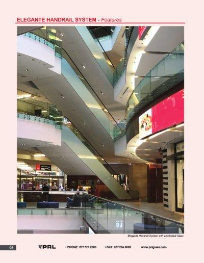 Elegante Handrail System - Features