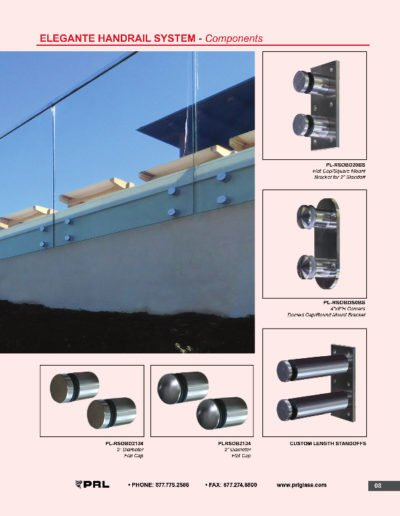 Elegante Handrail System - Components