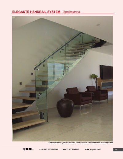 Elegante Handrail System - Applications
