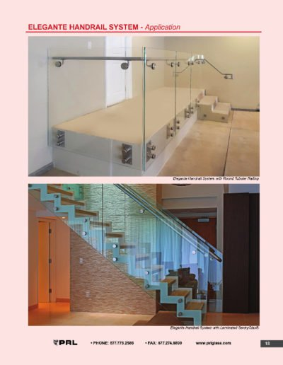 Elegante Handrail System - Application