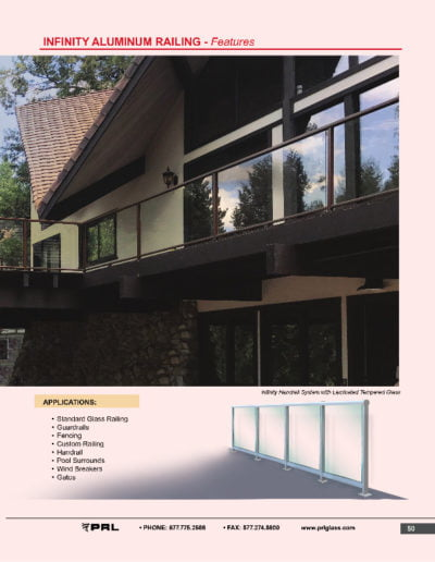 Infinity Aluminum Railing - Features