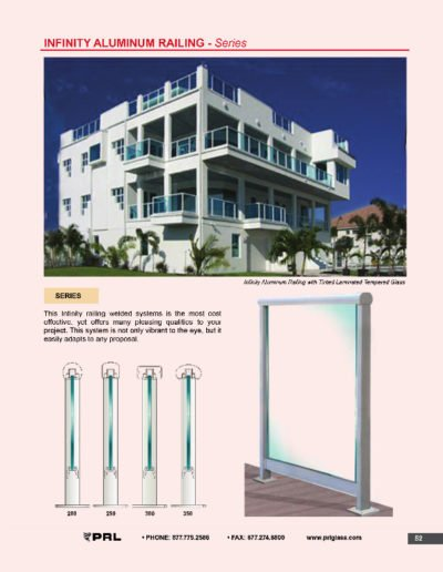 Infinity Aluminum Railing - Series