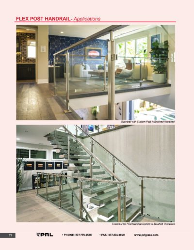 Flex Post Handrail System - Applications