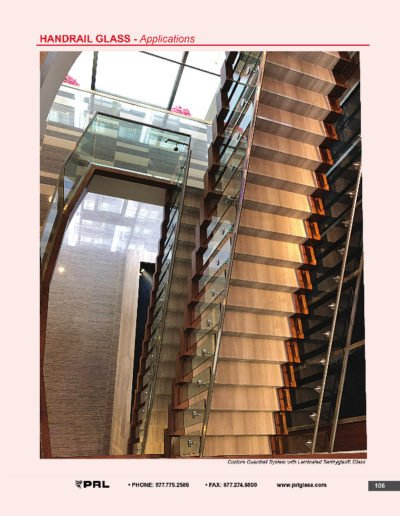Handrail Glass - Applications