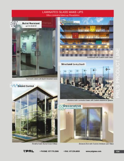 Laminated Glass Make-Ups