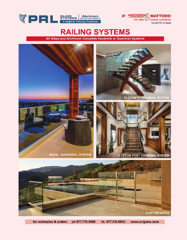 2021 PRL Railing Systems Catalog