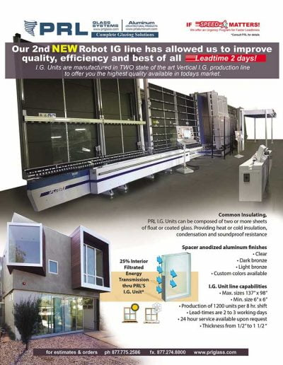 Second Insulated Glass Production Line