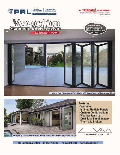 Accordion Sliding Bifold Door Systems