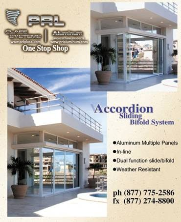 Accordion Sliding Bifold Door System