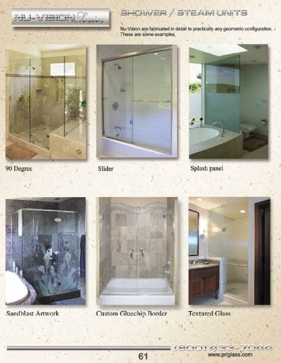 All Glass Shower Doors and Hardware