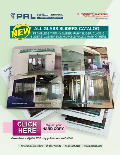 all glass slider catalog
