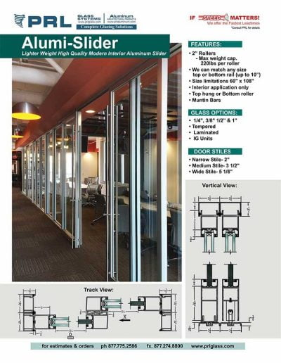 Aluminum Sliders