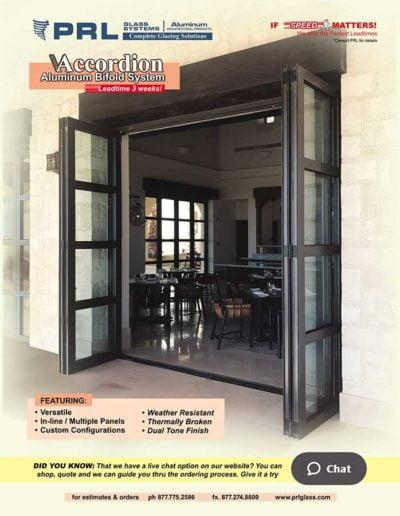aluminum accordion bifold doors