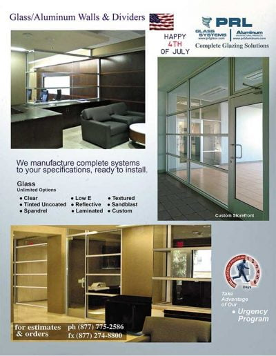 Aluminum Glass Walls