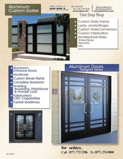 Aluminum Gates and Doors