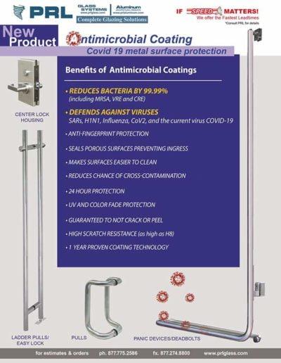antimicrobial metal coatings