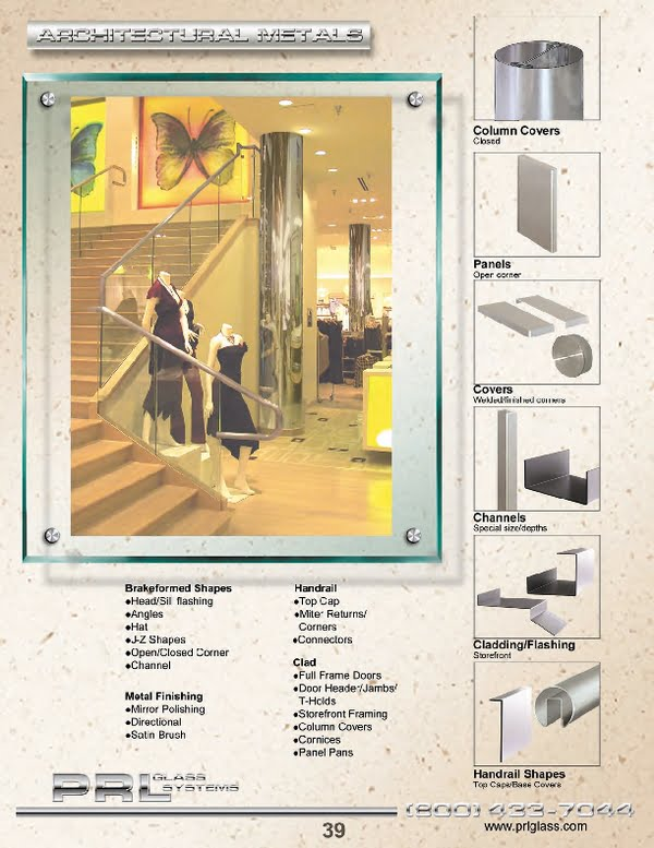 architectural metal manufacturing