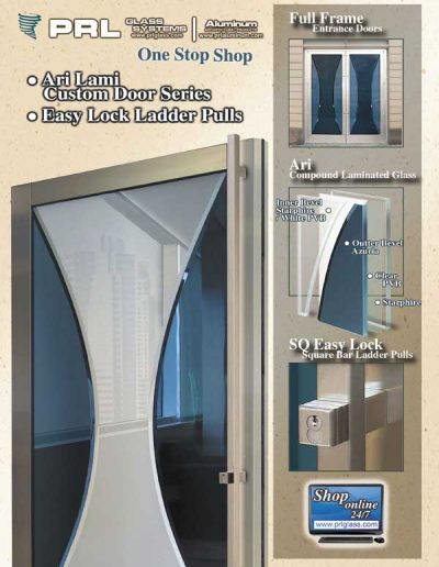 Ari Compound Laminated Glass Doors