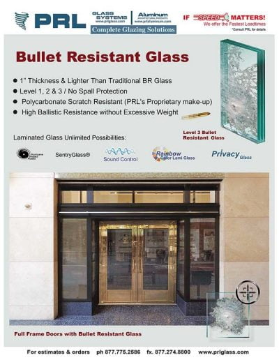 Ballistic Resistant Glazing Laminate