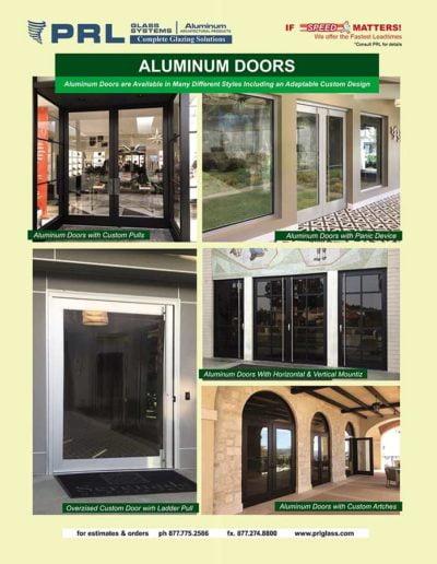best aluminum entrance doors