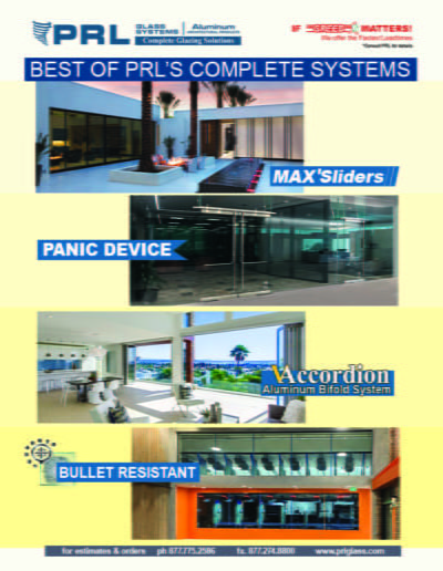 Best of PRL Glass and Aluminum 2021
