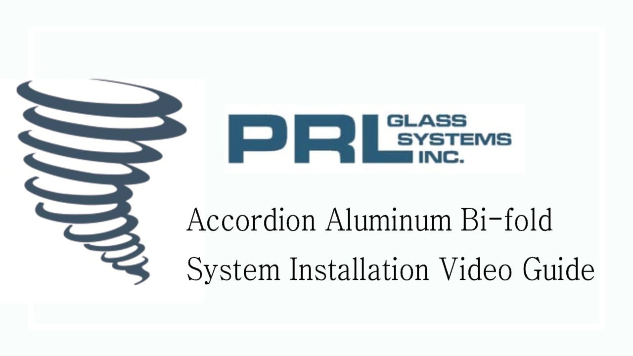 Bi Fold Accordion Door Installation Video