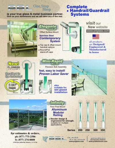 California Handrail Manufacturer