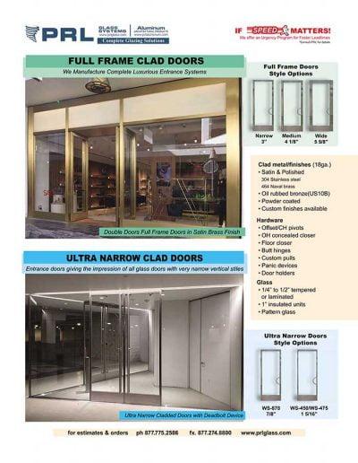 Clad Doors