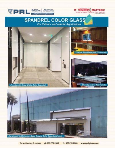 Colored Spandrel Glass
